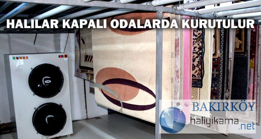 bakırköy halı yıkama fabrikası kurutma odası